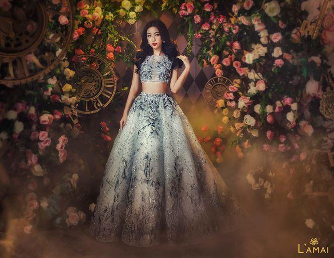 Hoa hậu Đỗ Mỹ Linh hoá công chúa trong xứ thần tiên - 2