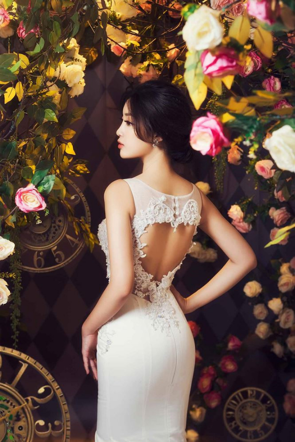 Hoa hậu Đỗ Mỹ Linh hoá công chúa trong xứ thần tiên - 4