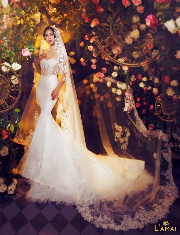 Hoa hậu Đỗ Mỹ Linh hoá công chúa trong xứ thần tiên - 5