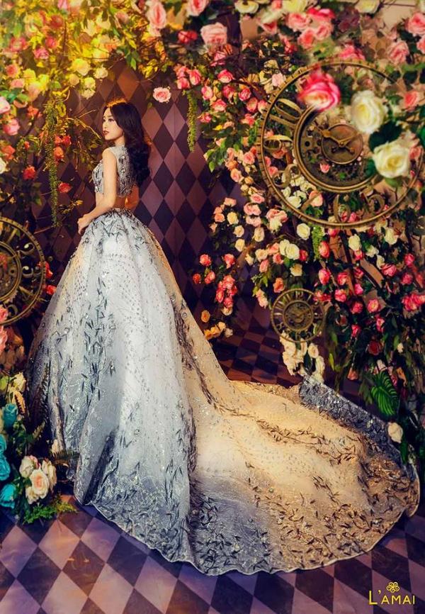 Hoa hậu Đỗ Mỹ Linh hoá công chúa trong xứ thần tiên - 3