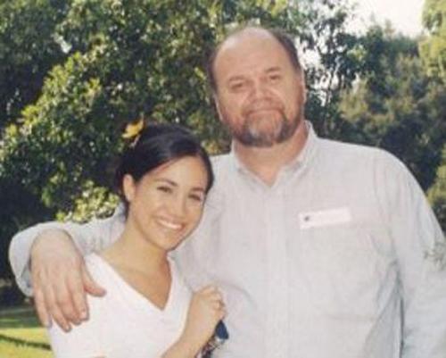 Meghan và bố rất thân thiết với nhau. Ảnh: Tim Stewart.