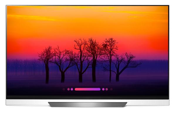 TV LG Oled E8 AI 2018.