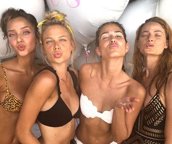 Tiệc chia tay đời độc thân toàn mỹ nữ của bạn gái sao Barca - 2