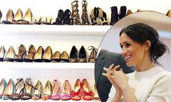 Bạn thân tiết lộ Meghan Markle là người 'cuồng giày dép'