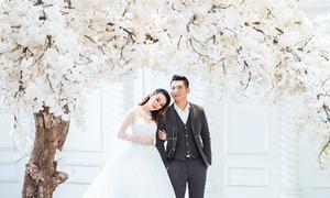 Mix đồ chụp ảnh cưới ở phim trường theo cách của vợ chồng Mai Quốc Việt