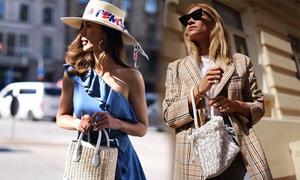 Tín đồ thời trang thế giới mê đắm túi xách thủ công