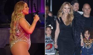 Mariah Carey khoe dáng mảnh mai sau khi giảm cân thần tốc