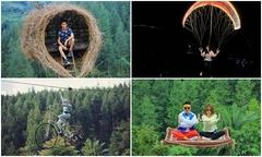 Khu du lịch không dành cho người sợ độ cao ở Indonesia