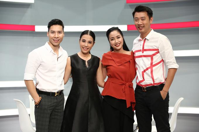 Vợ chồng nghệ sĩ xiếc Quốc Nghiệp và diễn viên Ốc Thanh Vân được mời tham gia chương trình Là vợ phải thế. Họ chia sẻ nhiều câu chuyện thú vị về hôn nhân.
