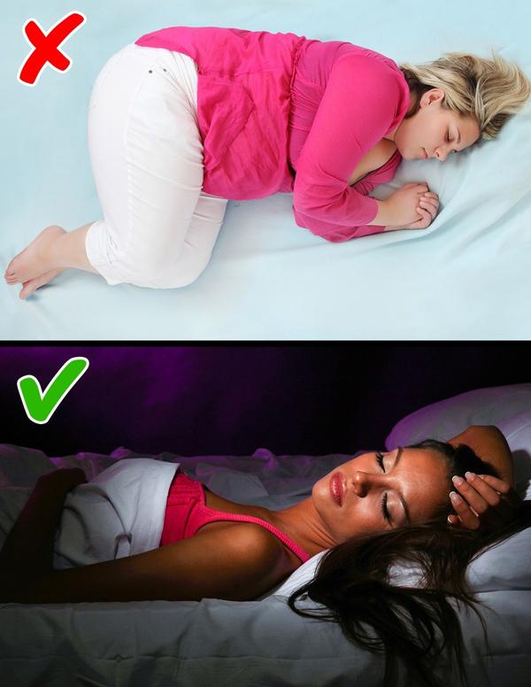 Tắt đèn khi ngủ