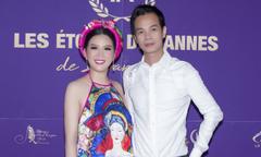Ca sĩ Đinh Hiền Anh sánh vai NTK Hoàng Hải tại Cannes