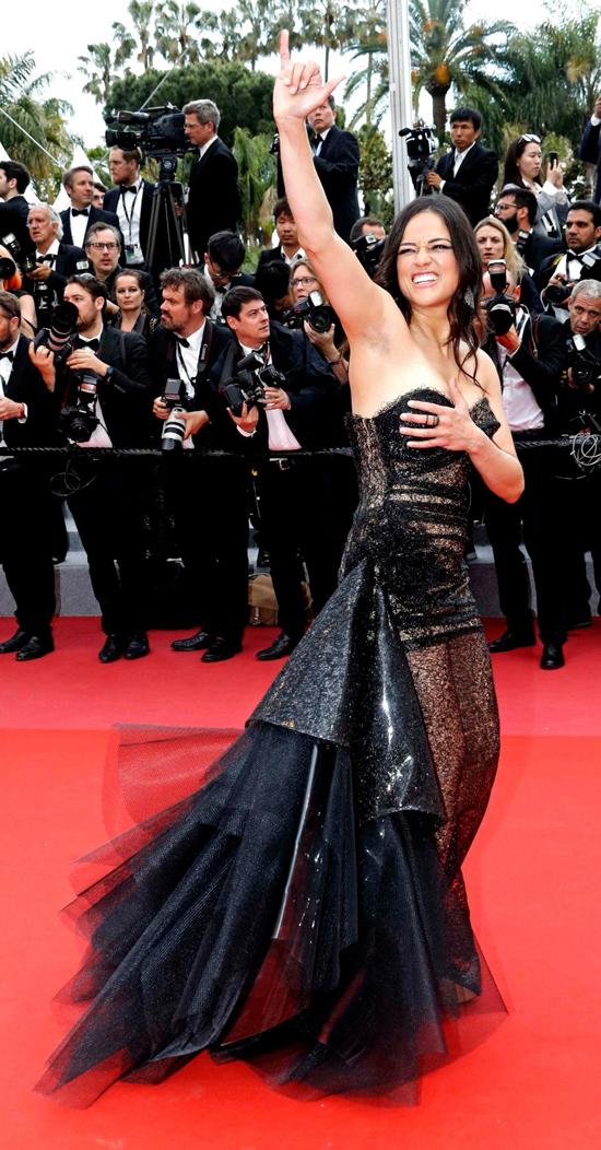 Nữ diễn viên Fast and Furious Michelle Rodriguez.