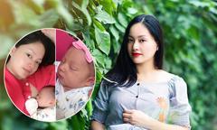 Diễn viên Lan Phương khoe ảnh con gái đầu lòng