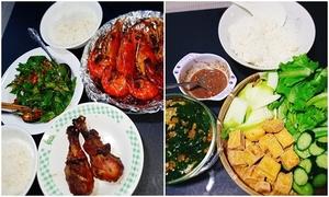 Bữa cơm 'đa văn hóa' của gia đình vợ Việt, chồng Hồi giáo