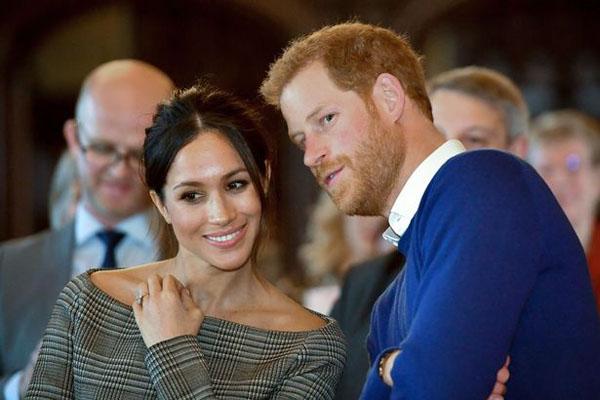 Hoàng tử Harry và diễn viên Mỹ hơn 3 tuổi đang nóng lòng chờ tới ngày trọng đại của cuộc đời vào 19/5 này. Ảnh: AFP.