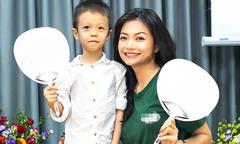 Kiều Anh 'Phía trước là bầu trời' lần đầu khoe con trai 5 tuổi