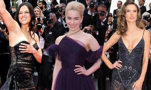 Các sao nô nức tới xem phim 'Star Wars Ngoại truyện' ở Cannes