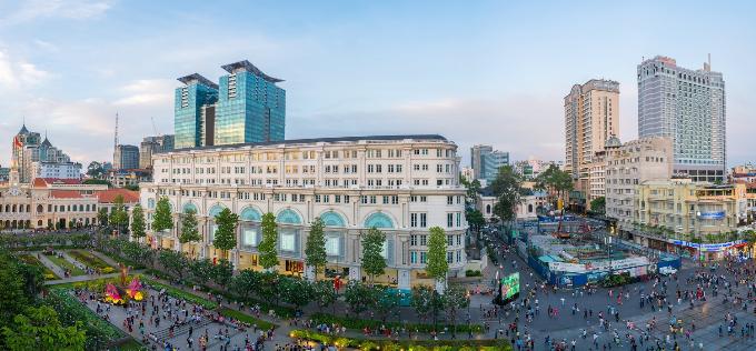 Mandarin Oriental Saigon  Điểm đến lý tưởng dành cho phong cách sống thượng lưu(xin bai edit)