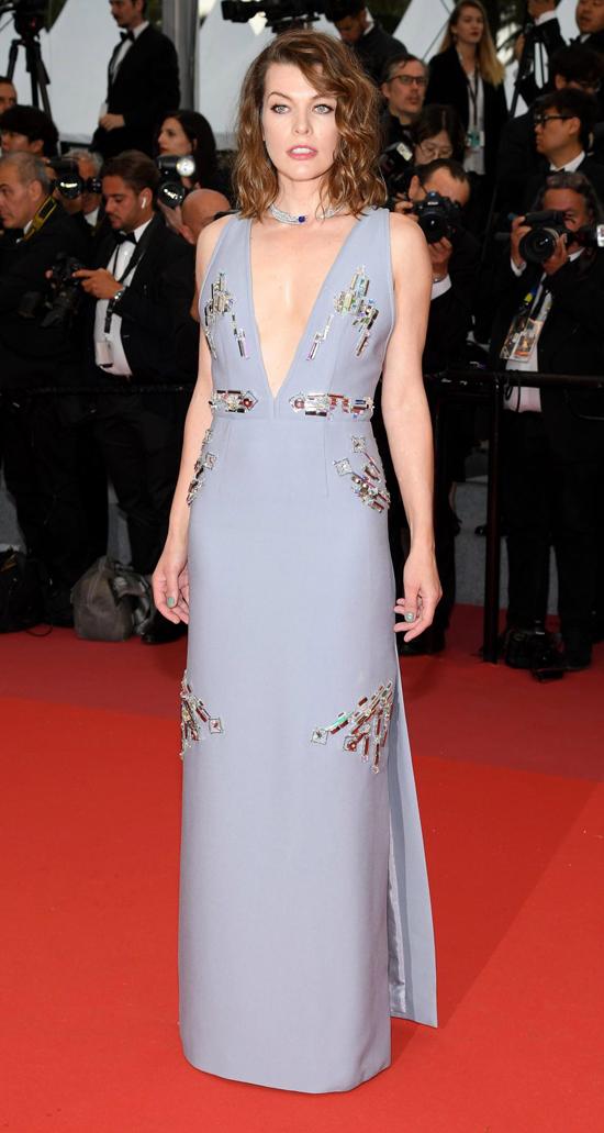 Nữ diễn viên Hollywood, Mila Jovovich.