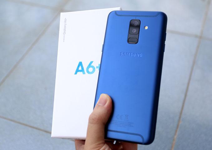 Galaxy A6+ sở hữu ngôn ngữ thiết kế kim loại, mỏng nhẹ hướng đến người dùng trẻ tuổi.