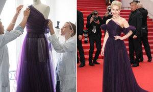 Dior mất hơn 10 ngày để làm váy cho 'mẹ rồng' Emilia Clarke dự Cannes