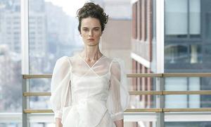 Những mẫu váy cưới ngắn mà cô dâu khó có thể chối từ