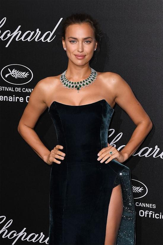 Cô tham dự một loạt sự kiện trong khuôn khổ liên hoan phim vào cuối tuần trước.