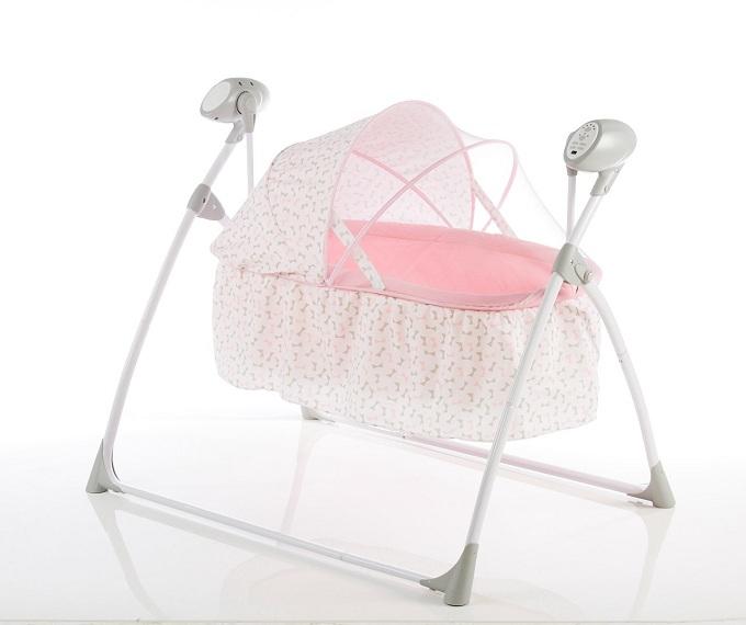 Nôi đưa tự độngMastelahỗ trợ cho các mẹ chăm con nhàn hơn và mang lại sự thoải mái cho bé.