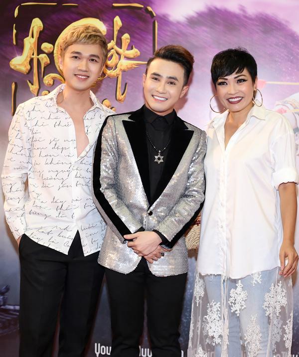 MC Minh Xù và ca sĩ Phương Thanh ủng hộ dự án mới của Huỳnh Lập.