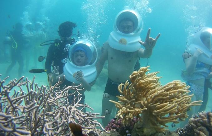 Những kiểu lặn đang hot ở Nha Trang vào mùa hè - 1