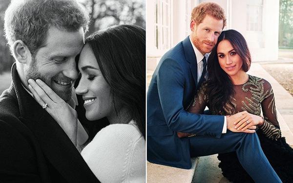 Cặp đôi dành cho nhau những cử chỉ yêu thương trong loạt ảnh đính hôn. Ảnh:Alexi Lubomirski.