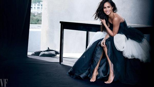 Meghan xinh đẹp trên tạp chí Vanity Fair. Ảnh: Vanity Fair.