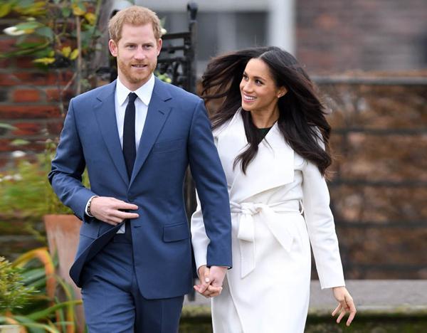 Hoang tử Harry và hôn thê Meghan Markle sẽ làm đám cưới vào ngày mai. Ảnh: WireImage
