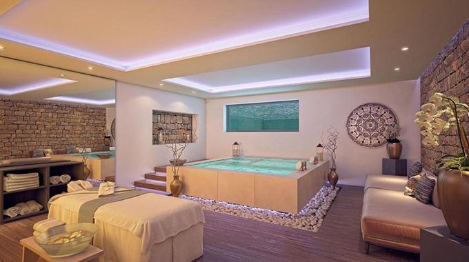 Biệt thự nghỉ dưỡng của McGregor còn có phòng gym, xông hơi và bể tắm nóng.