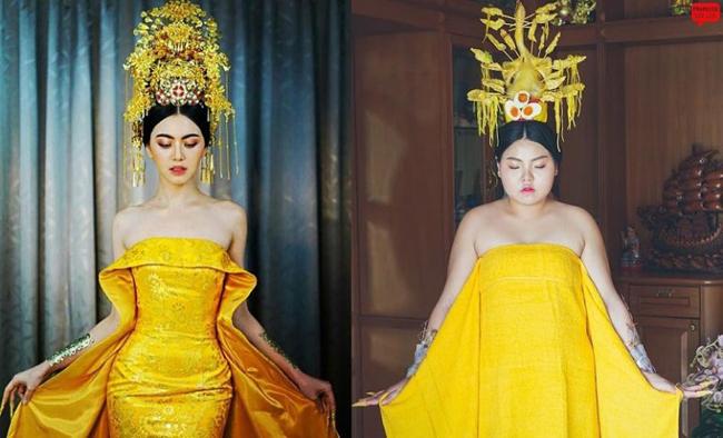 Cô gái mê ăn người Thái cosplay thành người nổi tiếng - 2
