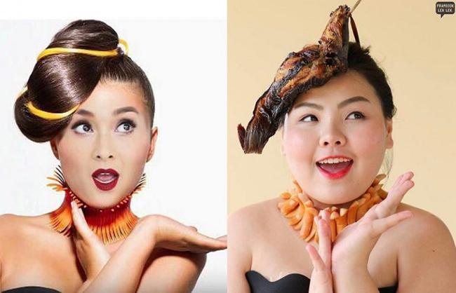 Cô gái mê ăn người Thái cosplay thành người nổi tiếng - 7