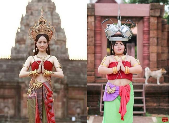Cô gái mê ăn người Thái cosplay thành người nổi tiếng - 8