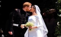 Hôn lễ kéo dài một tiếng trong nhà thờ của Harry - Meghan