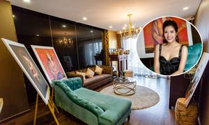 Căn hộ gần 4 tỷ tự thiết kế của Hoa hậu Phan Hoàng Thu