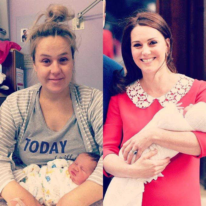 Các bà mẹ bình thường sẽ không đi đến tiệm làm tóc ngay sau khi sinh. Thậm chí, họ còn giữ điều kiêng cữ này tới hàng tháng sau đó.