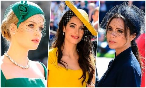 Vic cùng dàn khách mời nữ gây ấn tượng với lối trang điểm cổ điển tại hôn lễ hoàng gia