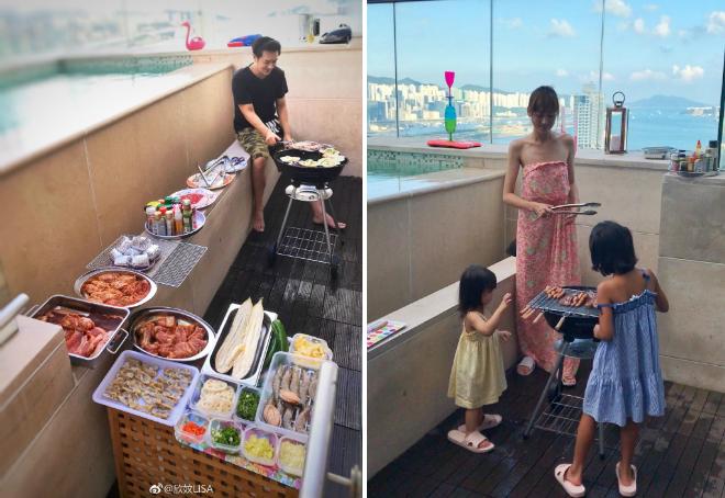 Vợ chồng Trần Hạo Dân và 4 con tận hưởng tiệních sốngtrong căn hộ áp mái - 6