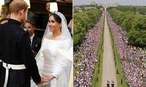 Toàn cảnh đám cưới của Hoàng tử Harry và diễn viên Meghan Markle