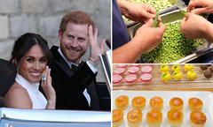 Những món ăn trong tiệc cưới Hoàng tử Harry và Meghan
