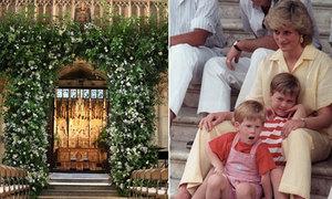 Hoàng tử Harry trang trí tiệc cưới bằng loài hoa yêu thích của Công nương Diana