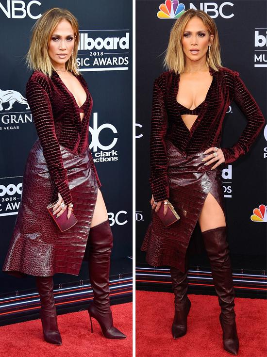 J.Lo luôn nổi bật trên mọi thảm đỏ vì phong cách thời trang phóng khoáng.
