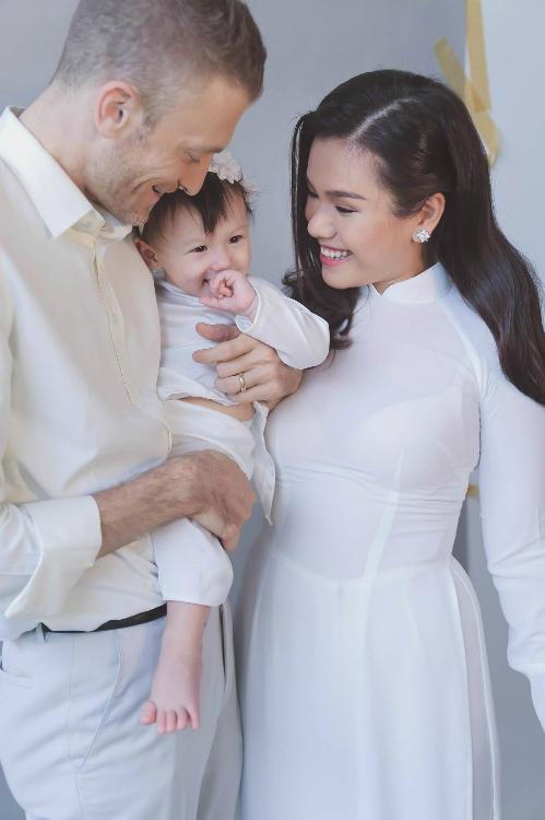 Con gái và chồng là nguồn động lực để Phương Vy thay đổi suy nghĩ theo hướng tích cực.