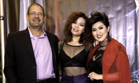 Ngọc Anh 3A cùng người yêu mới tới mừng Nguyễn Hồng Nhung ra MV