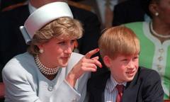 Những lần Harry gợi nhớ người mẹ quá cố trong đám cưới