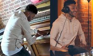 Sao Liverpool lỡ World Cup trổ tài chơi trống và piano